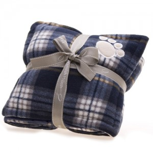 ntartan dog blanket blue jpg