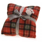 ntartan dog blanket set red jpg