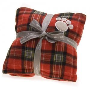 ntartan dog blanket set red jpg