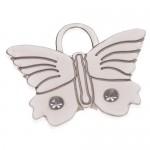 pet id tag butterfly1 silver jpg