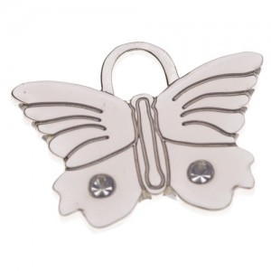 pet id tag butterfly1 silver jpg