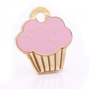 pet id tag cupcake gold jpg